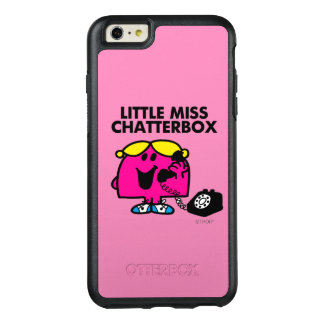 Little Miss Chatterbox & Black Telephone OtterBox iPhone 6/6s Plus Case