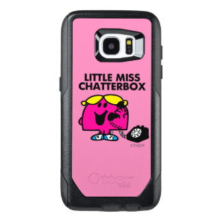 Little Miss Chatterbox & Black Telephone OtterBox Samsung Galaxy S7 Edge Case