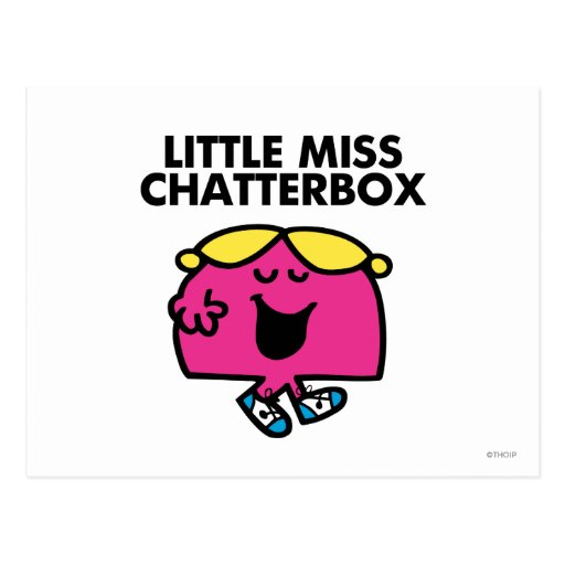 Little Miss Chatterbox Classic 1 Postcard