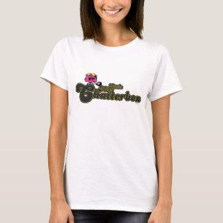 Little Miss Chatterbox   Dark Green Lettering T-Shirt