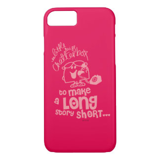Little Miss Chatterbox | Long Story Short iPhone 8/7 Case