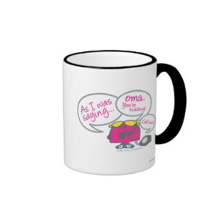 Little Miss Chatterbox & Telephone Ringer Mug