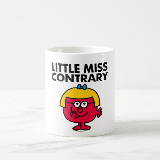 Little Miss Contrary Basic White Mug