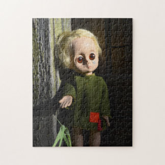 Little Miss Creepy Jigsaw Puzzle