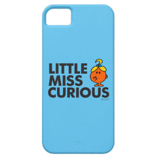 Little Miss Curious | Black Lettering Case For The iPhone 5