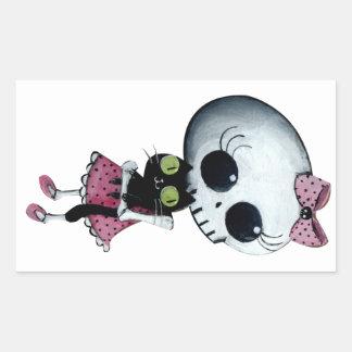 Little Miss Death - Hallowen Beauty Stickers
