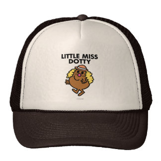 Little Miss Dotty Waving Cap