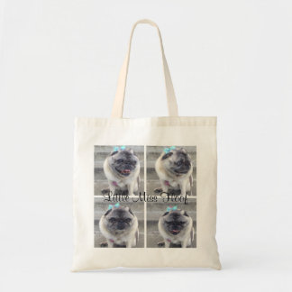 Little Miss Floof Tote Bag