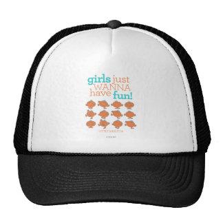 Little Miss Fun   Girls Just Wanna Have Fun Trucker Hat