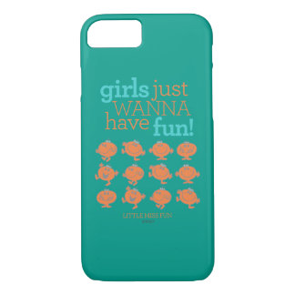 Little Miss Fun | Girls Just Wanna Have Fun iPhone 8/7 Case