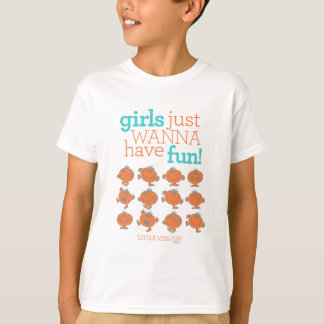 Little Miss Fun   Girls Just Wanna Have Fun T-shirts