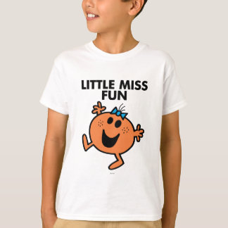 Little Miss Fun Waving Joyously T-Shirt