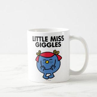 Little Miss Giggles | Black Lettering Basic White Mug