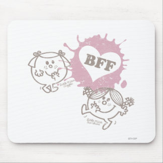 Little Miss Giggles & Little Miss Sunshine | BFFs Mouse Pad