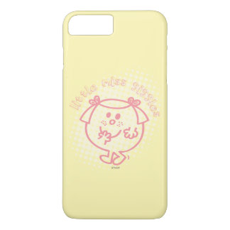 Little Miss Giggles | Pink Lettering iPhone 7 Plus Case