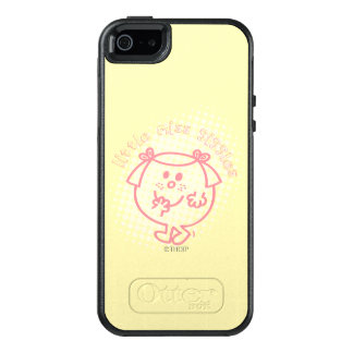 Little Miss Giggles   Pink Lettering OtterBox iPhone 5/5s/SE Case