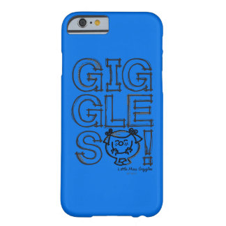 Little Miss Giggles Sketch Barely There iPhone 6 Case