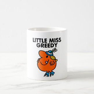 Little Miss Greedy Licking Her Lips Coffee Mug