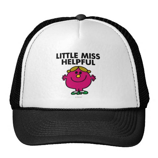 Little Miss Helpful Classic Trucker Hats