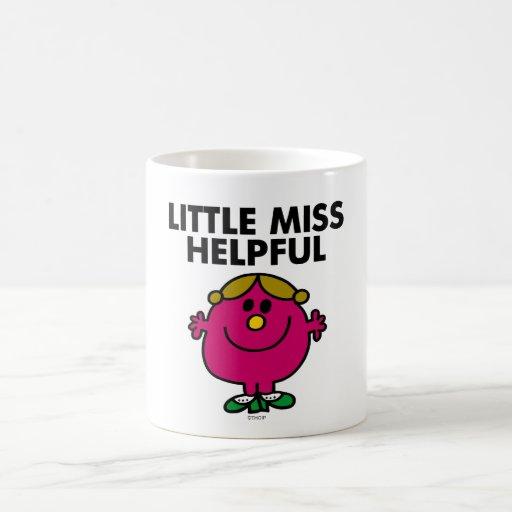 Little Miss Helpful Classic Coffee Mugs