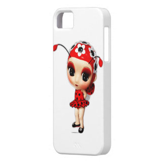 Little Miss Ladybug iPhone 5 Case