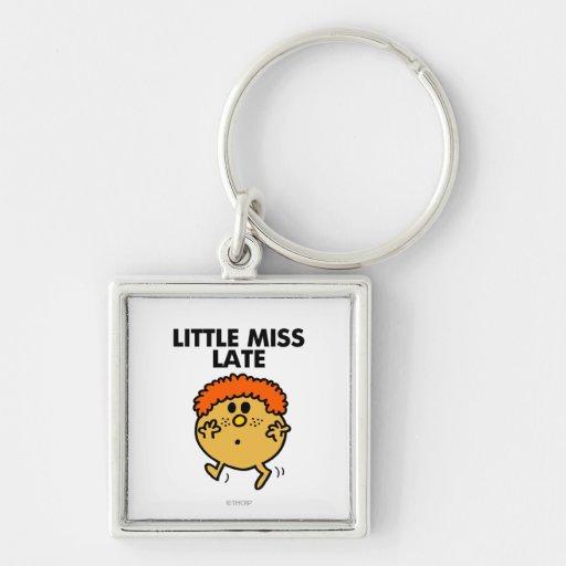 Little Miss Late Classic Key Chain