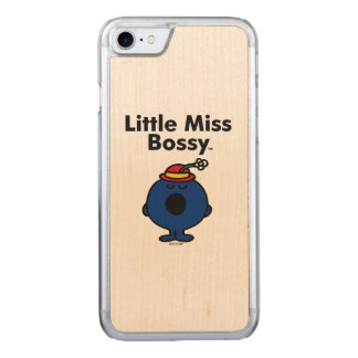 Little Miss | Little Miss Bossy is So Bossy Carved iPhone 8/7 Case