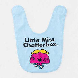 Little Miss | Little Miss Chatterbox is So Chatty Bib