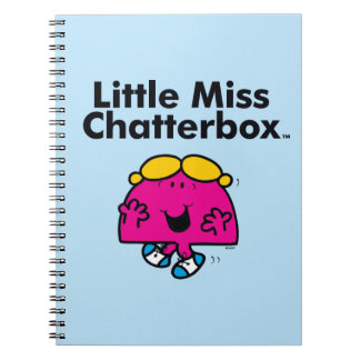 Little Miss | Little Miss Chatterbox is So Chatty Notebooks