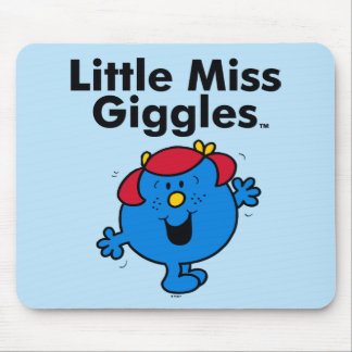 Little Miss | Little Miss Giggles Likes To Laugh Mouse Pad