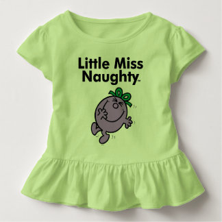 Little Miss | Little Miss Naughty is So Naughty Toddler T-Shirt