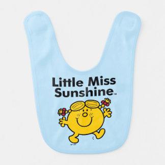 Little Miss | Little Miss Sunshine is a Ray of Sun Bib