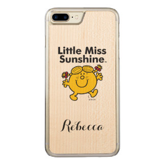 Little Miss | Little Miss Sunshine is a Ray of Sun Carved iPhone 8 Plus/7 Plus Case
