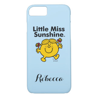 Little Miss | Little Miss Sunshine is a Ray of Sun iPhone 8/7 Case