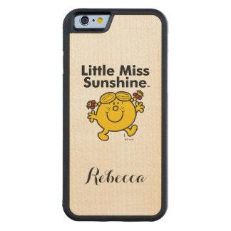 Little Miss | Little Miss Sunshine is a Ray of Sun Maple iPhone 6 Bumper Case