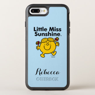 Little Miss | Little Miss Sunshine is a Ray of Sun OtterBox Symmetry iPhone 8 Plus/7 Plus Case