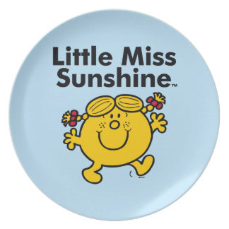 Little Miss   Little Miss Sunshine is a Ray of Sun Plate