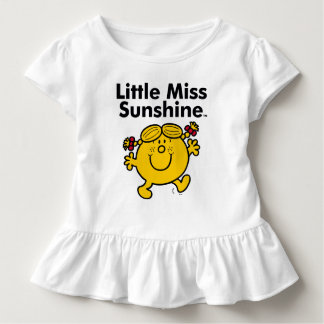 Little Miss | Little Miss Sunshine is a Ray of Sun Toddler T-Shirt