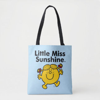 Little Miss | Little Miss Sunshine is a Ray of Sun Tote Bag