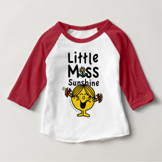 Little Miss | Little Miss Sunshine Laughs Baby T-Shirt