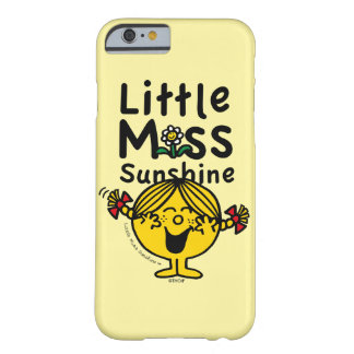 Little Miss | Little Miss Sunshine Laughs Barely There iPhone 6 Case