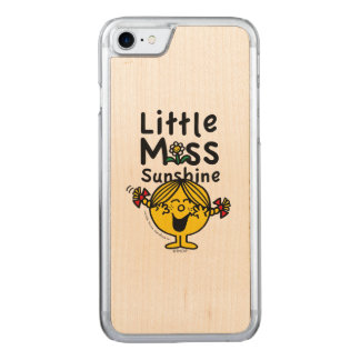 Little Miss | Little Miss Sunshine Laughs Carved iPhone 8/7 Case