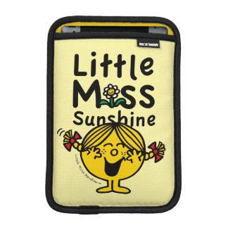 Little Miss | Little Miss Sunshine Laughs iPad Mini Sleeve