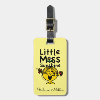 Little Miss | Little Miss Sunshine Laughs Luggage Tag