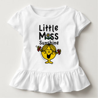 Little Miss | Little Miss Sunshine Laughs Toddler T-Shirt