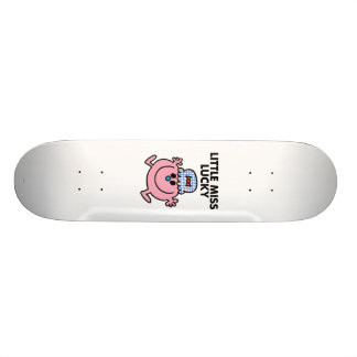 Little Miss Lucky | Black Lettering Skateboards