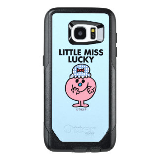 Little Miss Lucky Hiding Her Mouth OtterBox Samsung Galaxy S7 Edge Case
