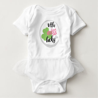 Little miss Lucky St. Patrick's Day Bodysuit