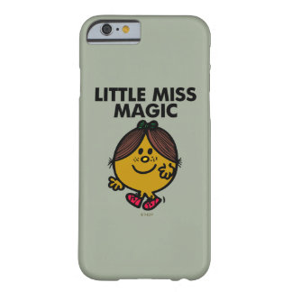 Little Miss Magic | Black Lettering Barely There iPhone 6 Case