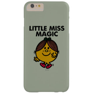 Little Miss Magic | Black Lettering Barely There iPhone 6 Plus Case
